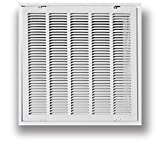 #5: Truaire 190RF 25X20 Stamped Return Air Filter Grille, Removable Face, 25
