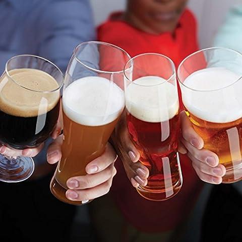 Lenox Tuscany Classics 4-Piece Wheat Beer Glass Set, 2.80 LB, Clear