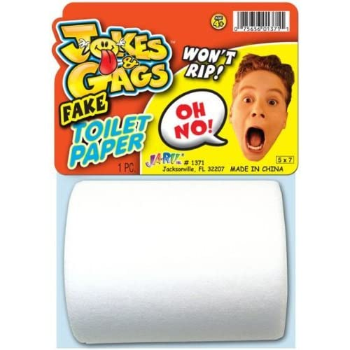 JA-RU FAKE Toilet Paper chic