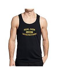 Teeburon REAL MEN MARRY Capoeira Practitioners Tank Top