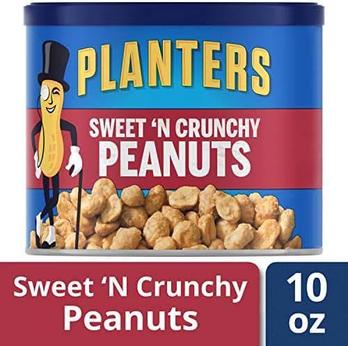 Nuts & Seeds: Planters Sweet N' Crunchy Peanuts