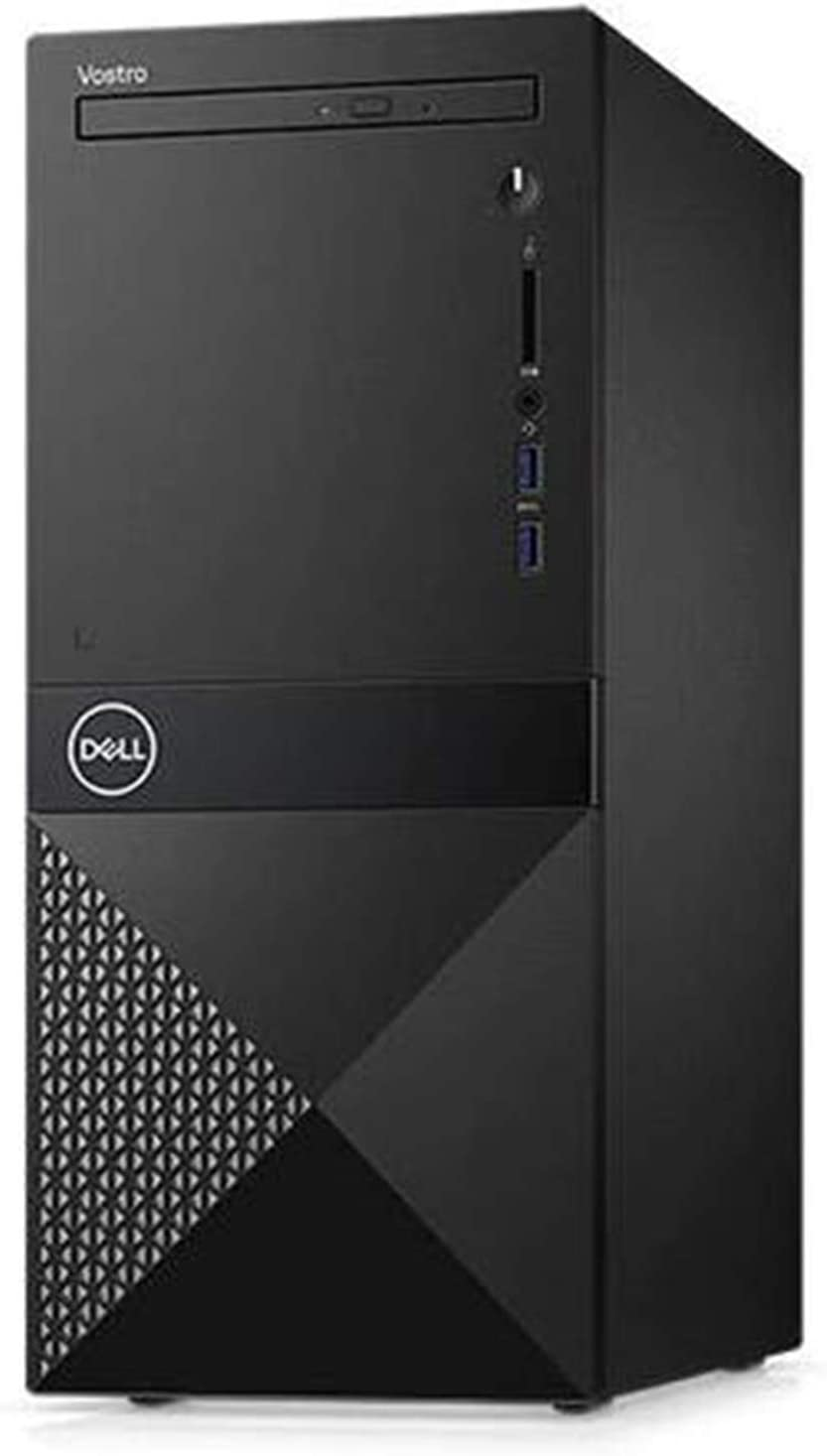 2019 Dell Vostro 3000 Business Desktop Computer 9th Gen Intel Hexa-Core i5-9400 up to 4.1GHz 8GB DDR4 RAM 256GB PCIe SSD DVDRW 802.11bgn WiFi Bluetooth USB 3.0 HDMI Windows 10 Pro