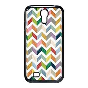 Chevron Phone Case For Samsung Galaxy S4 i9500 [Pattern-1] WANGJING JINDA
