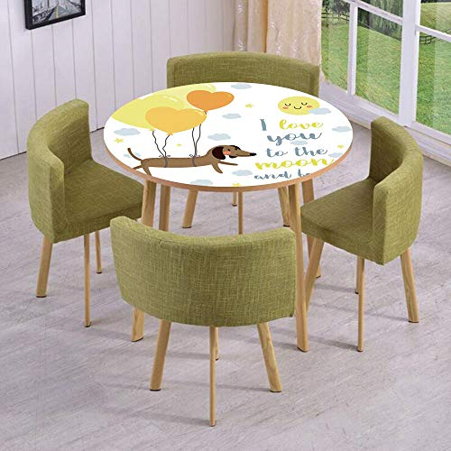 iPrint Round Table/Wall/Floor Decal Strikers,Removable,Cute