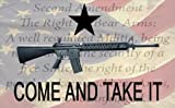 NEOPlex 3′ x 5′ Come And Take It Carbine – 2nd Amendment /American Flag For Sale