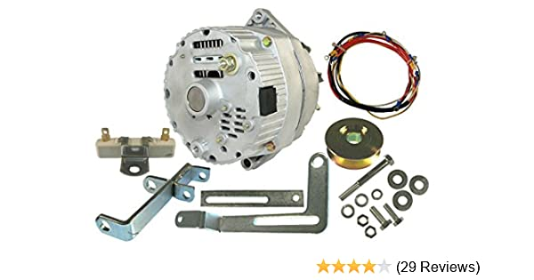 amazon com: db electrical akt0004 new ford 8n tractor alternator for generator  conversion kit, ford 8n with side mount distributor: garden & outdoor