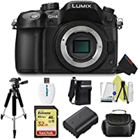 Panasonic Lumix DMC-GH4 Mirrorless Micro Four Thirds Digital Camera (Body) + Pixi-Basic Accessories Bundle Benefits Review Image
