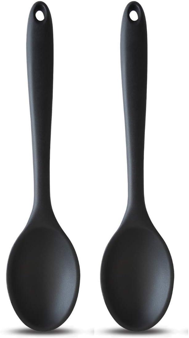 perfekt zum Backen Kochen 2 St/ück Mischen und mehr StarCooks Silikon-Kochl/öffel