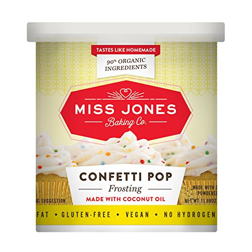 Brownie Pops (Miss Jones Baking Organic Frosting, Confetti Pop (Pack of 6))