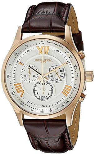 Jorg Gray Men's JG6600-23 Analog Display Quartz Brown Watch
