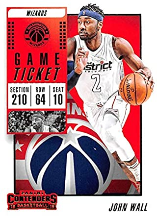 2018-19 Panini Contenders Game Ticket Fat Pack Exclusive Green Basketball   69 John Wall 66912c380