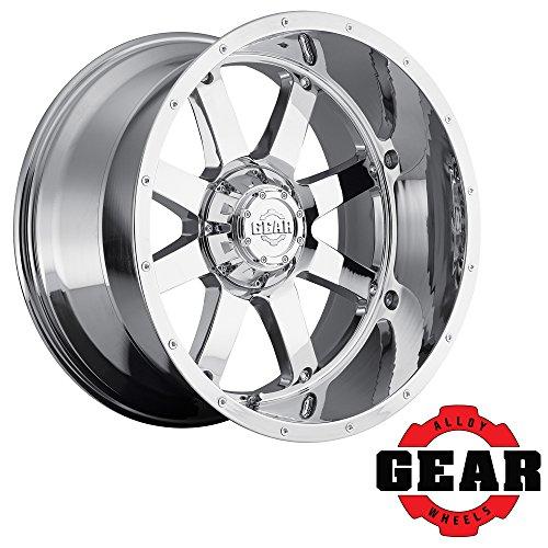 Gear Alloy 726C BIG BLOCK Wheel with Chrome Finish (20x10/6x5.5, 19mm Offset) - Big Ten Gear