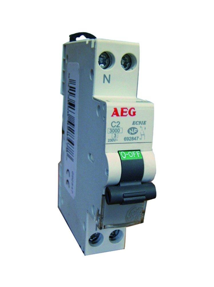 Aeg Aun Disjoncteur Phase  Neutre  A AmazonFr Commerce