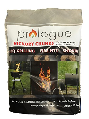 Prologue Hickory Chunks 10lb with Free Fatwood