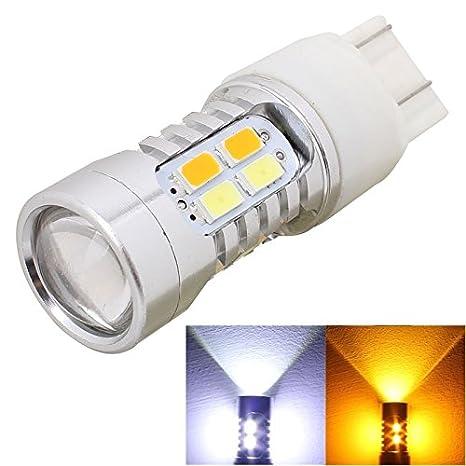 Luces de alta calidad, MZ T20 10W 700LM amarillo + luz blanca adaptador Cables 20