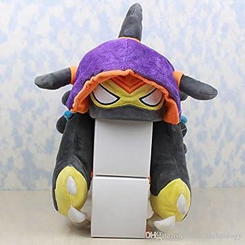 Amazon.com : Cool Hot Game Anime Rammus Cosplay HAT PURPLE ...