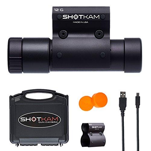 ShotKam Shotgun Camera — Action Camera for 12-Gauge Barrel Clay Shooting and Hunting from ShotKam LLC