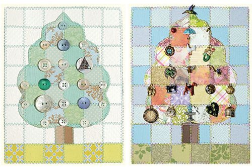 Charming Tree Paper Quilt Pattern 1 pcs sku# 1213961MA by Wallies