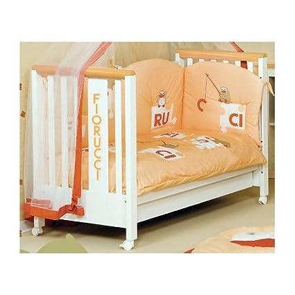 Fiorucci Bagnetto Pinguini V4 Bianco E Salmone Baby Nursery Furniture