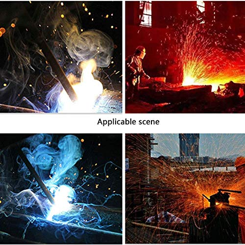 IRVING Electric welding, durable, heat-insulating, wear-resistant, breathable, fire-resistant gloves, high temperature, long argon arc welding, durable (Design : Style one) by IRVING (Image #5)
