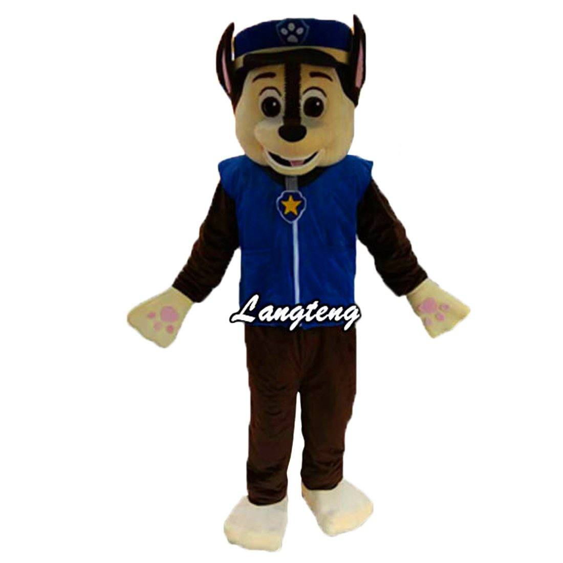 Patrol Dog Mascot cartoon Costume