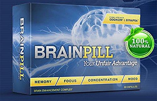 Brain Pill Enhancement Complex - 60 Capsules