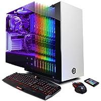 CyberPowerPC Gamer Supreme Liquid Cool SLC8480AD Gaming Desktop Computer, White - Intel Core i7-7700K 4.2GHz, 32GB RAM, 512GB SSD, 3TB HDD, NVIDIA GeForce GTX 1080 8GB, Windows 10 Home