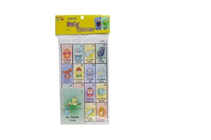 Amazon Com Jimmy S Toys Baby Shower Loteria Game Toys Games