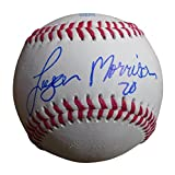 Minnesota Twins Logan Morrison Autographed Hand Signed Baseball with Proof Photo of Signing, Seattle Mariners, Miami Marlins, Tampa Bay Rays, COA