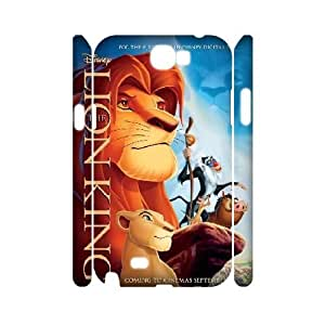 Custom Samsung Galaxy Note2 N7100 Cover, Personalized Samsung Galaxy Note2 N7100 3D Case - The Lion King