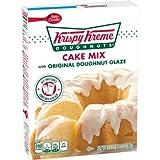 Krispy Kreme Doughnuts Cake Mix with Original Doughnut Glaze