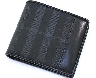 competitive price 2474b f2985 Amazon   バーバリー BURBERRY 2つ折り財布 ブリットチェック ...