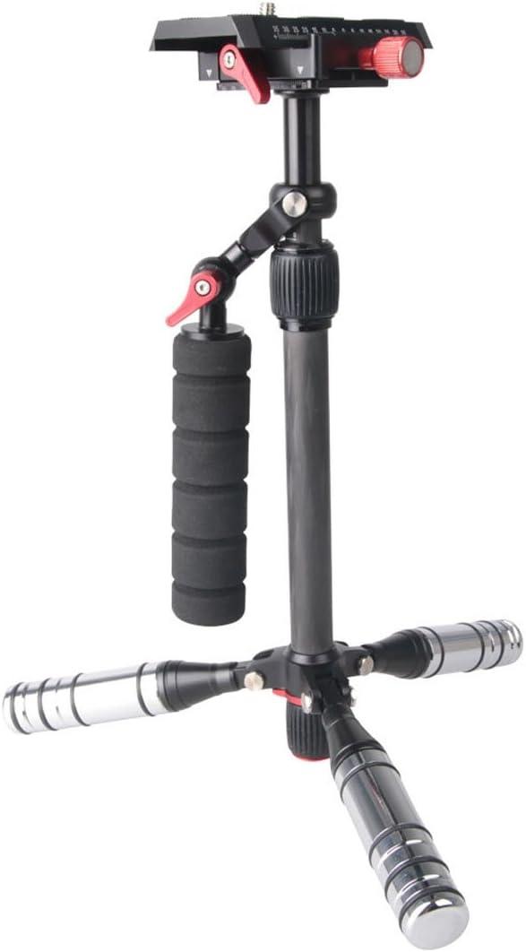 SK-500 SmartponeYHM Letspro Adjustable Plate Carbon Fiber Slider Professional Stabilizer for Camera//DV//DSLR//Camcorder