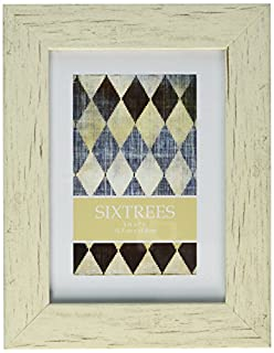 Sixtrees Shabby Frame, 5 by 7-Inch, White (B00C7B3OS0) | Amazon price tracker / tracking, Amazon price history charts, Amazon price watches, Amazon price drop alerts