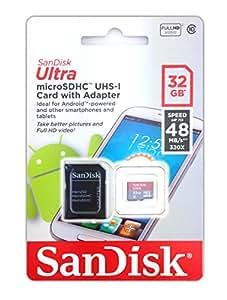 MaxFlash-Tarjeta de memoria microSD para Garmin nüvi 66LMT SanDisk-microSDHC 32 GB, clase 10, UHS-I adaptador SD-chip de memoria de ampliación de memoria memory card