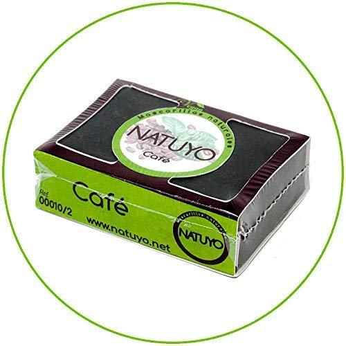 - Mascarilla de jabón NATUYO exfoliante de CAFÉ.- Estimula la circulación sanguínea, reduce ojeras o bolsas en los ojos, potente anticelulítico. ...