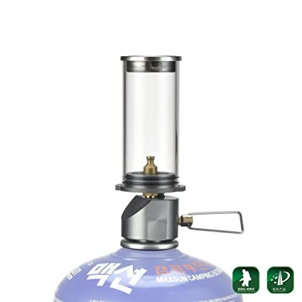 Outdoor Stoves Campcookingsupplies Bright 1 Pcs Hot Sale Mini Portable Camping Lantern Gas Light Tent Lamp Torch Hanging Glass Lamp Travel Gas Stove 2018 Newest Choice Materials
