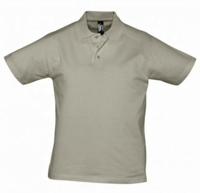 Sol del Prescott para Hombre Jersey Polo Camiseta Caqui XXL ...