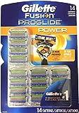 Gillette Fusion Proglide Blades Gillette Fusion Proglide Power Razor Blade 14 Cartridges Refills