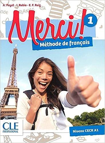Merci 1 Methode De Francais Niveau A1 Livre Dvd