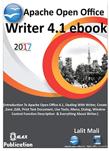 apache open office writer 41 ebook introduction to apache open office writer 41 by