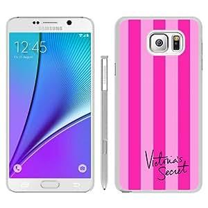Victoria's Secret Love Pink 37 White Special Custom Picture Design Samsung Galaxy Note 5 Phone Case