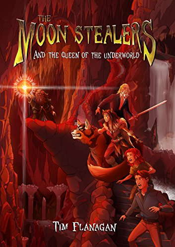 The Moon Stealers And The Queen Of The Underworld Fantasy Dystopian Books For Teenagers