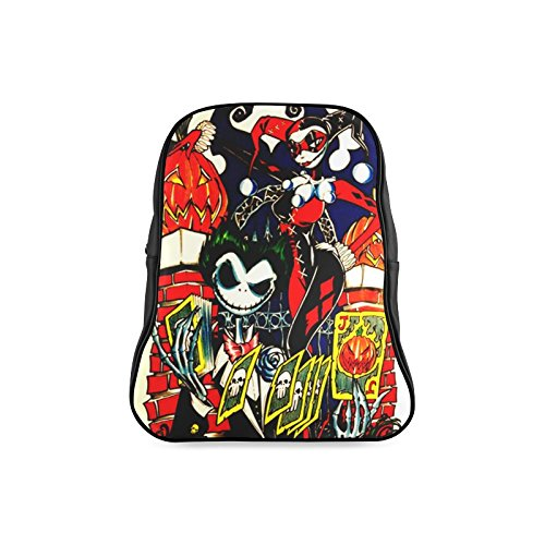 [Navarro Classic Halloween October 31 Jack O Lantern Children School High-grade PU Leather Backpack Bag Shoulder] (Monster High Dia De Los Muertos)