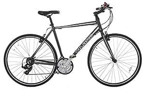 Vilano Tuono Performance Hybrid Flat Bar Commuter Road Bike (700c, 21 Speed Shimano) - 54 cm