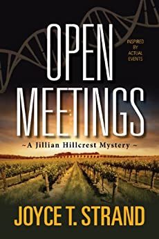 Open Meetings: A Jillian Hillcrest Mystery by [Strand, Joyce]