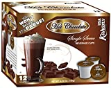 Dairy Free, Hot Chocolate Cups, Compatible with K Cup Coffee Maker, (2 Pack, Total 24 cups),You Won't Believe it's Parve!