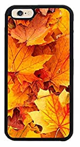 Autumn Leaves - Phone Case Back Cover (iPhone 6 PLUS (5.5 inches) Plastic Clear Sides)