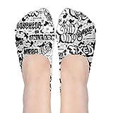 Casual No Show Socks Women Graffiti Hip-hop Colorful Low Cut Loafers Ankle Socks Women