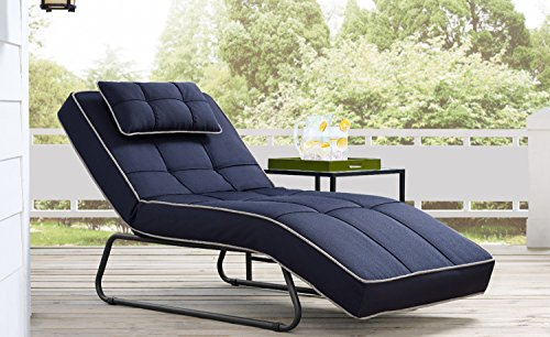 Relax A Lounger RA-BSRS7O2015P Baylands Outdoor Convertible Chaise